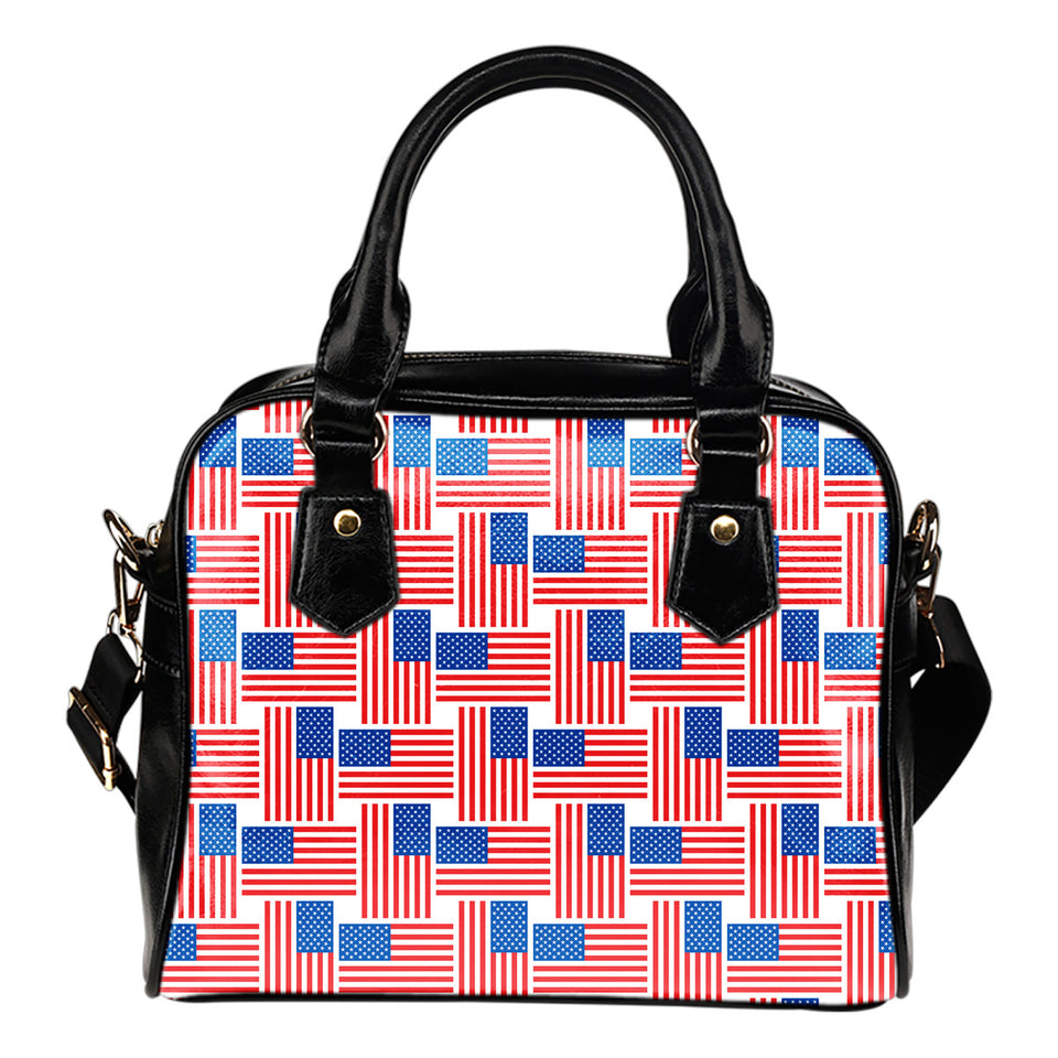 American Flag Cross Over Shoulder Handbag
