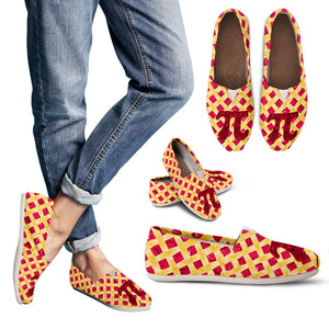 Cherry Pie Pi Day Women's Casual Shoes