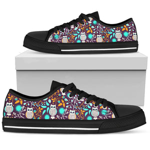 Forest Owl Low Top Shoes