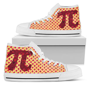 Cherry Pie Pi Day High Top Shoes