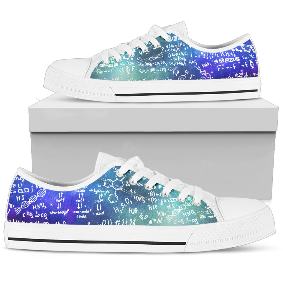 Chemistry Low Top Canvas Shoes
