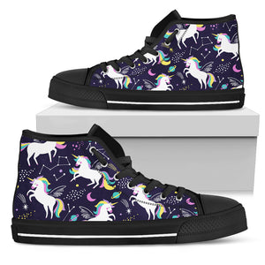 I Am A Unicorn High Top Shoes