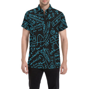 Math Black Men's Short Sleeve Shirt