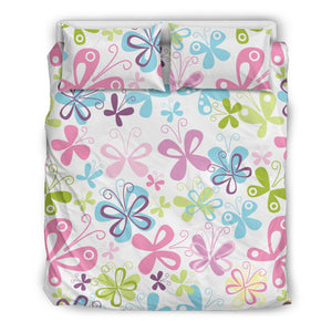 Butterfly Colorful Bedding Set