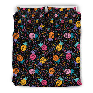 Colorful Pineapple Geomatric Pattern Bedding Set