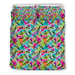 Colorful Abstract Geomatric Pattern Bedding Set