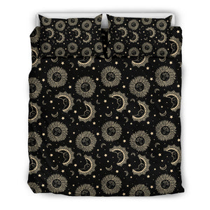 Bohemian Sun And The Moon Stars Bedding Set