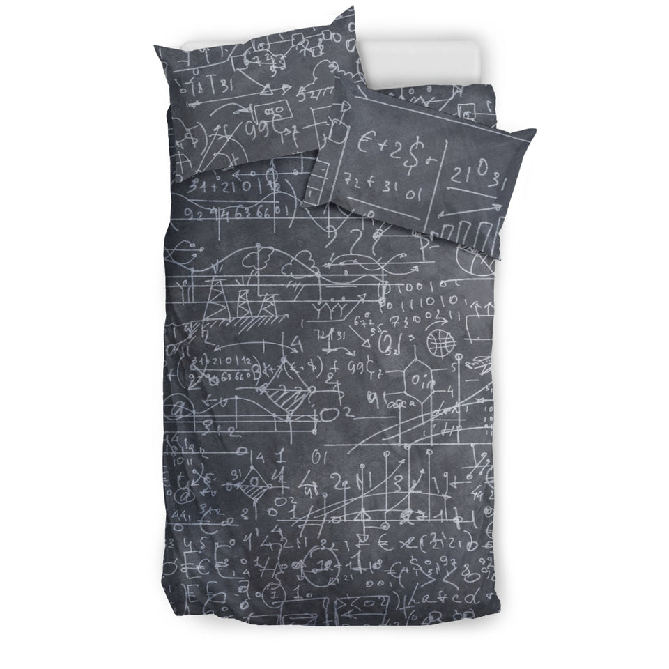Math Chemistry Bedding Set