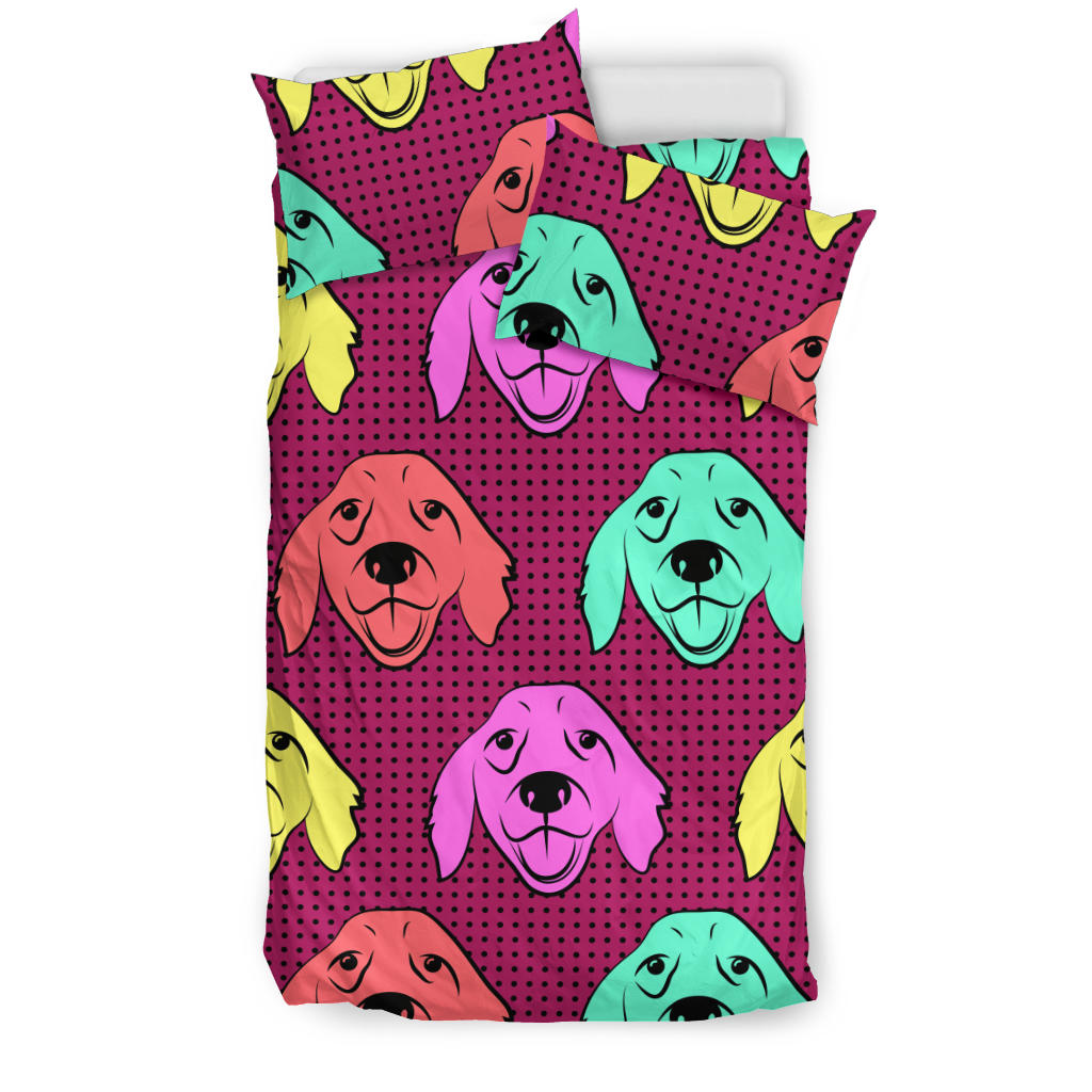 Color Labrador Retriever Bedding Set