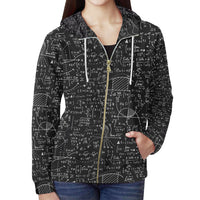 Mathematics All Over Print Full Zip Hoodie