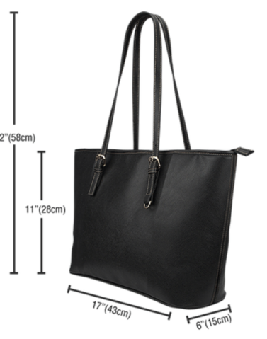 Chemistry Large Leather Tote