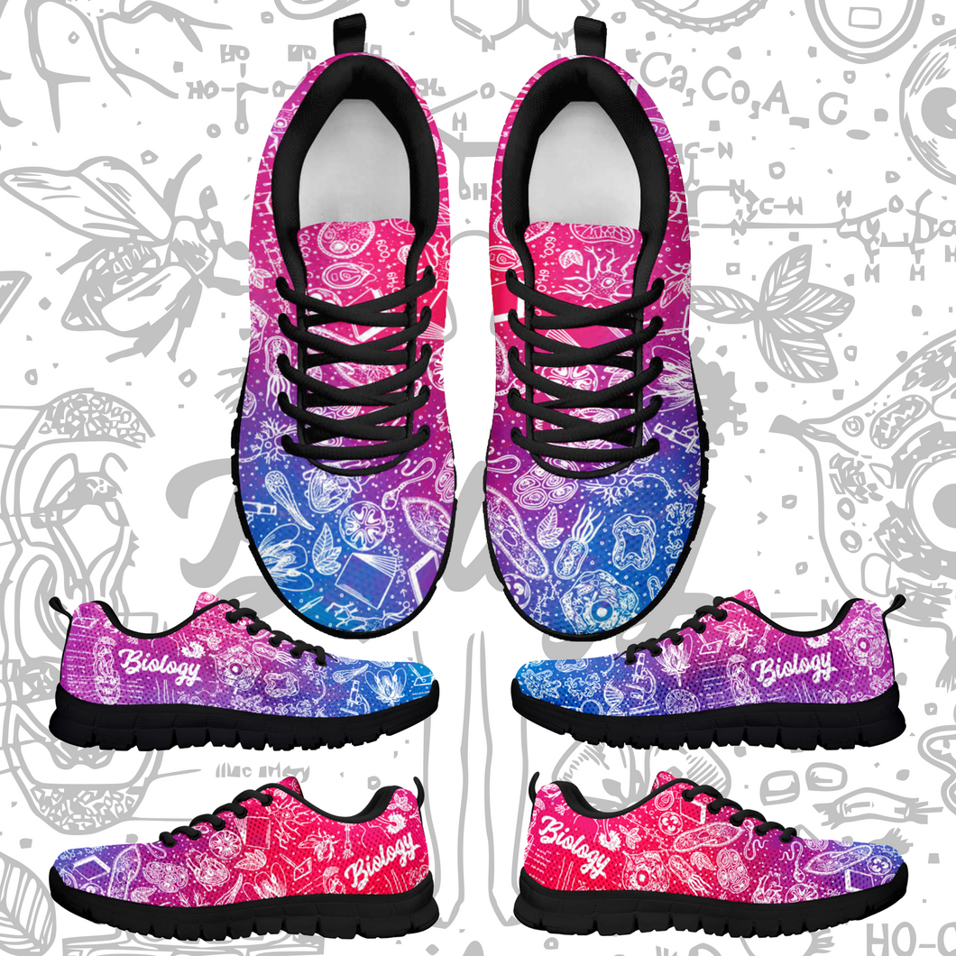 Biology Color Sneakers