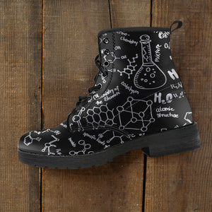 Chemistry Leather Boots