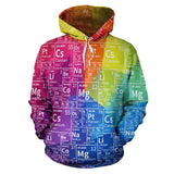 Periodic Colorful All Over Hoodie