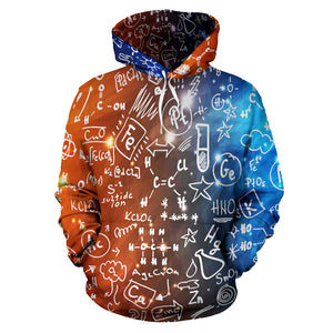Chemistry Galaxy All Over Hoodie