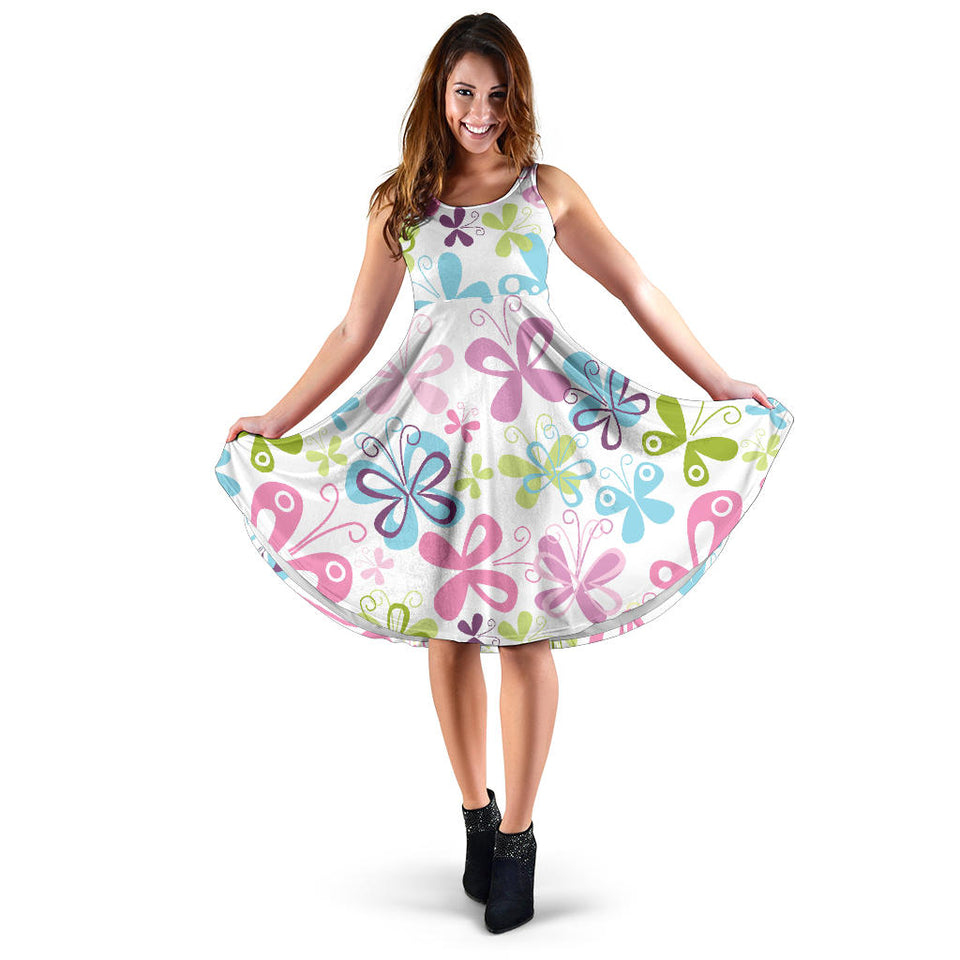 Butterfly Colorful Dress