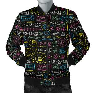 Mathematics Equations Color Men's Jacket