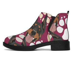 Paws Doberman Pinschers Fashion Boots