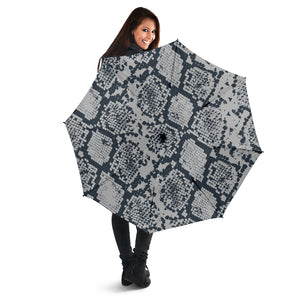 Gray Snake Print Umbrellas
