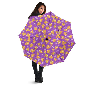 Purple Baby Chow Chow Umbrellas