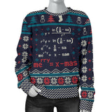 Ugly Mathematics Merry X'Mas Formula Women's Sweatshirt