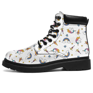 Magic Unicorn Rainbow Boots