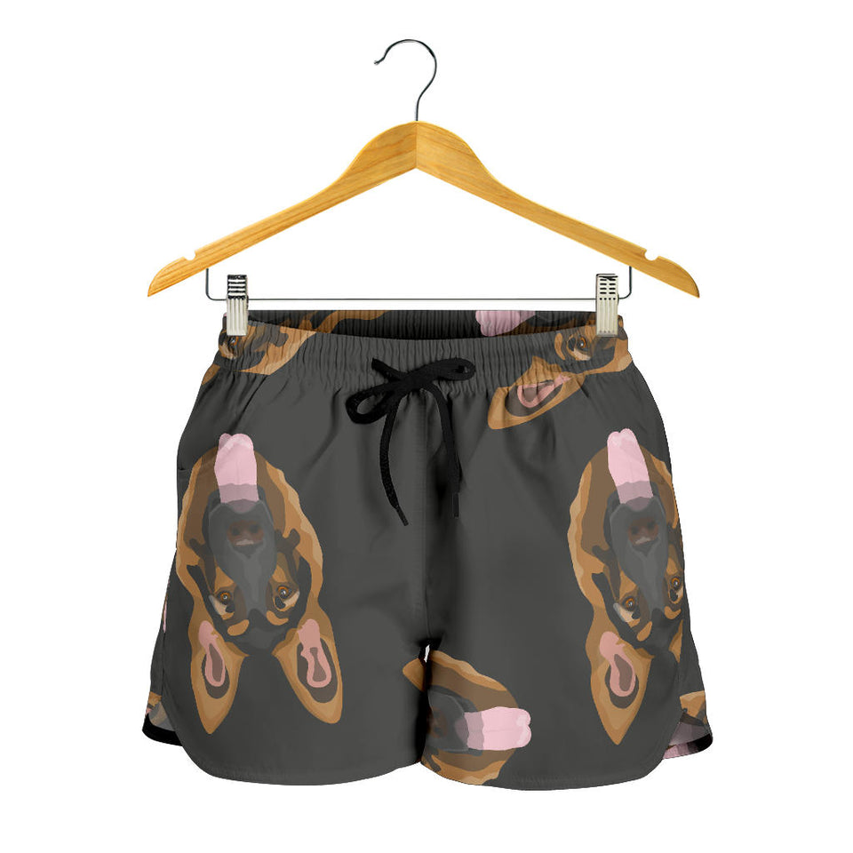 Cute German Shepherd Women's Shorts