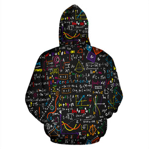 Math Color All Over Hoodie