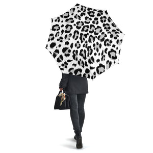 Black and White Leopard Skin Umbrellas