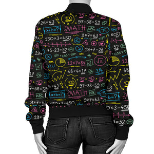 Mathematics Equations Color Women's Jacket