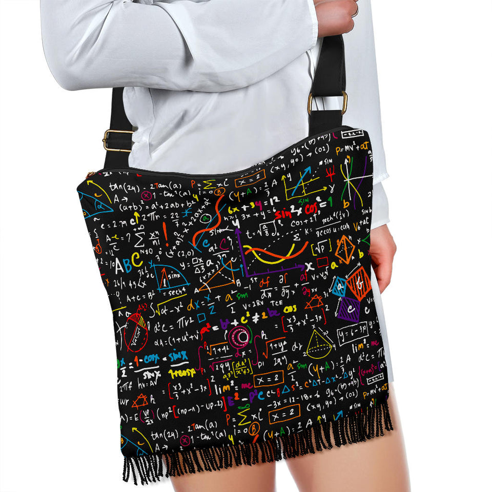 Mathematics Crossbody Handbag