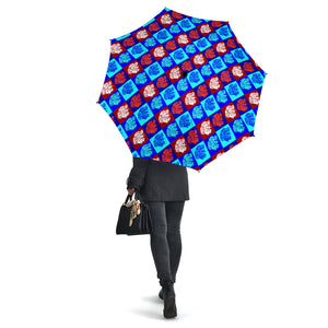 Colorful Irish Setter Dog Umbrellas