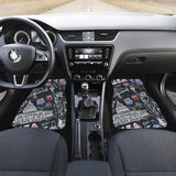 American Lover Front And Back Car Mats (Set Of 4)