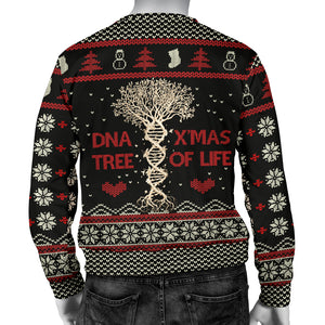 Ugly DNA Tree Of Life Men's Sweatshirt