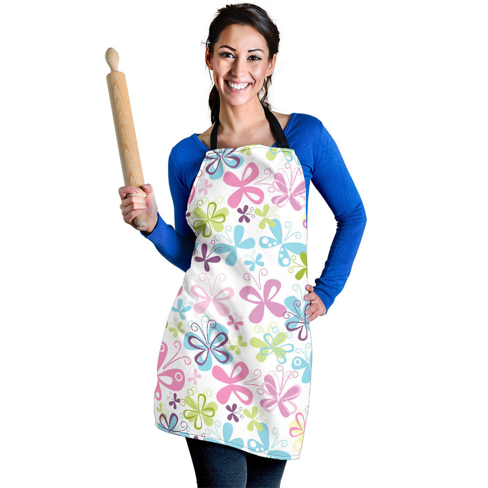 Butterfly Colorful Women's Apron