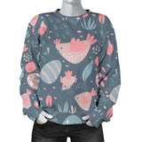 Spring Easter Chicken Women's Sweater