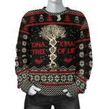 Ugly DNA Tree Of Life Women's Sweatshirt