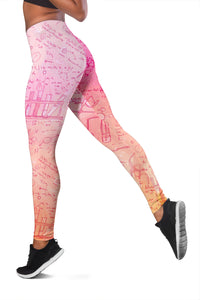 Chemistry Pink Leggings