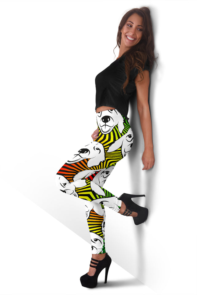 Labrador Retriever Colorful Women's Leggings