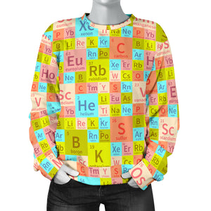 Chemistry Periodic Table Sweatshirt