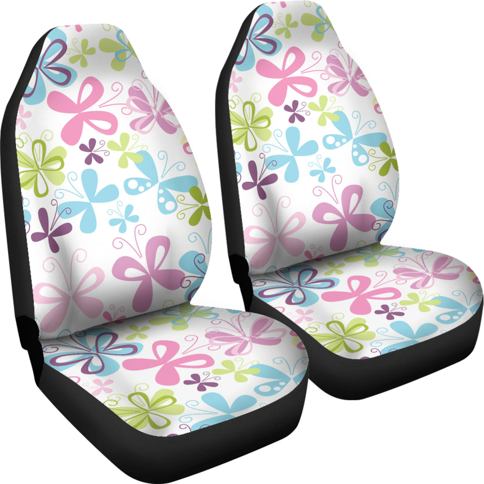 Butterfly Colorful Car Seat Covers