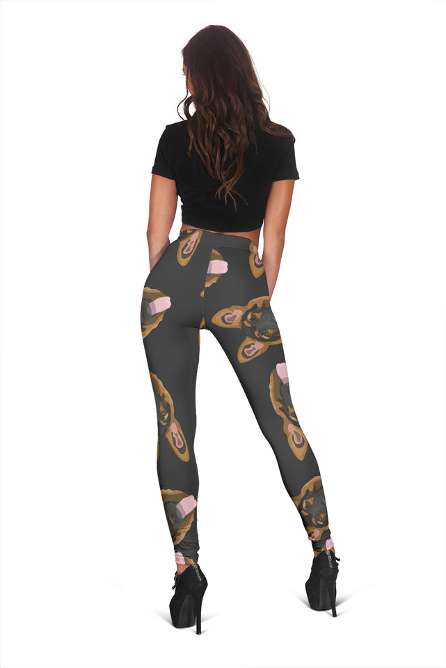 Cute German Shepherd Women's Leggings