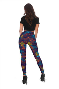 Camouflage Abstract Camo Urban Colorful Women's Leggings