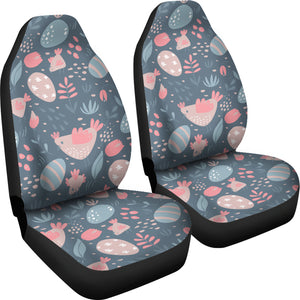 Spring Easter Chicken Car Seat Covers