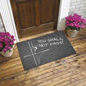 You Shall Not Pass Doormat