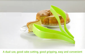 Cake Pie Slice Sheet Guide Knife