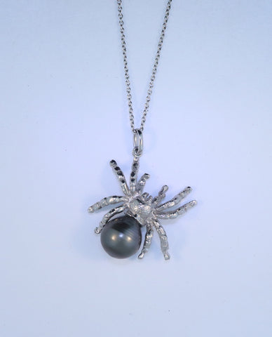 14KT Tarantula Necklace