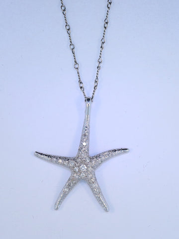 18KT Starfish Necklace
