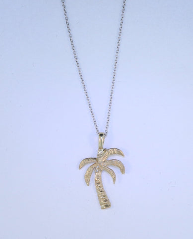 14KT Palm Tree Necklace