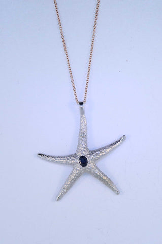 14KT Starfish Necklace